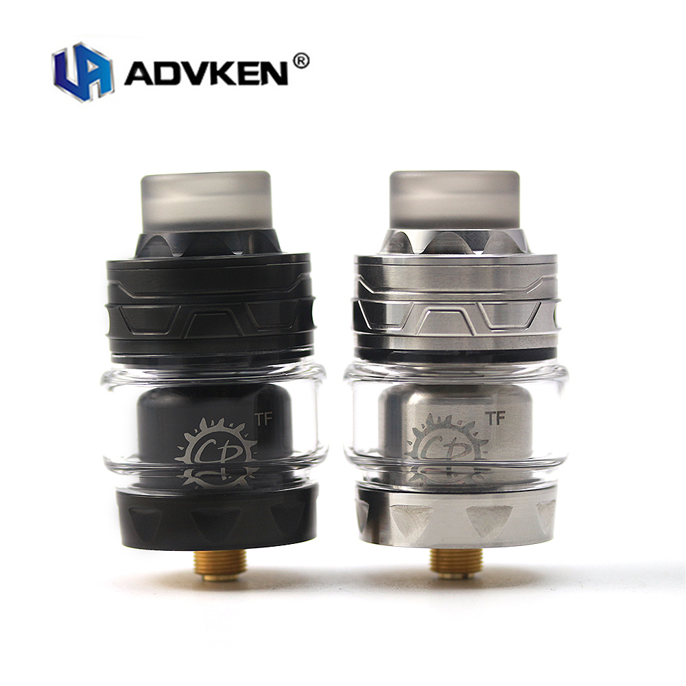 Electrónica cigarro del atomizador del Original Advken CP TF bobina única de base RTA 28mm 3 ml/4 ml capacidad Rebuildable goteando tanque