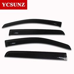 Window deflector for ford ranger injection black car wind deflector visor vent shade rain sun guard.jpg 250x250