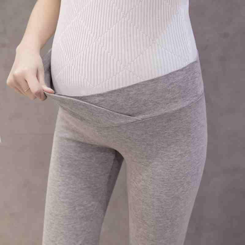aec4f3d7cb9f spring pregnant women low waist leggings Maternity polyester modal thin  legging comfort fashion autumn pants belly