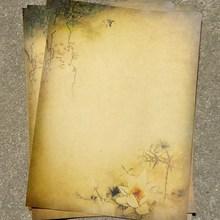 8 шт. винтажная канцелярская бумага для письма, набор букв, школьные офисные принадлежности