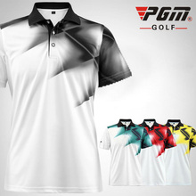 PGM Brand Golf Shirts Outdoor Sport Summer Quick Dry Golf Training Garment T-shirts Short Breathable For Men and Women Clothing