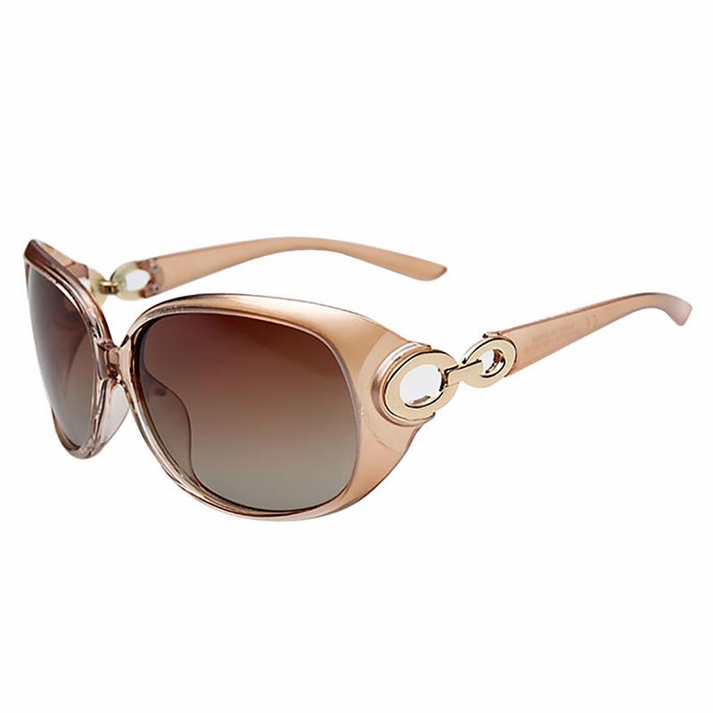 JULI Nya Kvinnor Solglasögon Mode Solglasögon Polariserade Gafas - Kläder tillbehör - Foto 4