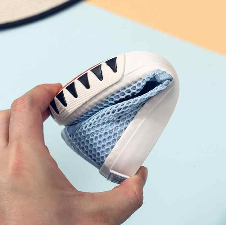 גודל 24-37 חיצוני נמוך לעזור ילדים נטו נעלי בני בנות ספורט נעלי ריצה 2019 קיץ החדש לנשימה רשת ילדים סניקרס
