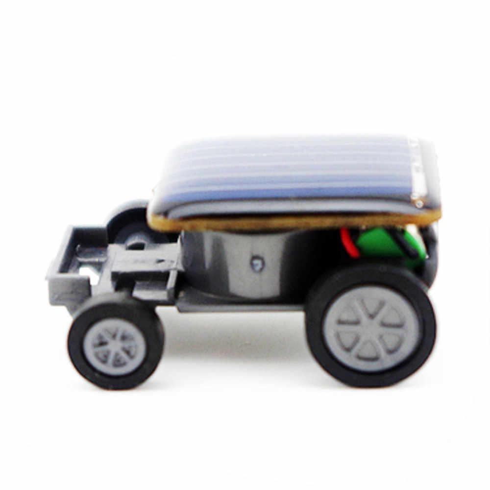 Игрушки на солнечных батареях для детей маленькая игрушечная машинка-гонщик развивающий Солнечный прибор, подарок на солнечных батареях Интерактивная Забавная детская игрушка