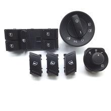 Переключатель бокового зеркала 1Z0959858B, для SKODA Octavia MK2 II 1Z Master, электрический выключатель на окно, 1Z0941431E 1Z1959565A