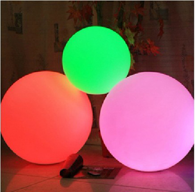 LED Table Lamp For Bar Living Room Bed Room Decor Garden Ball Cool Pool Ball Decorations