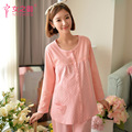 Pregnant Women Pajamas Month Of Breastfeeding Clothes Clothes Autumn And Winter Models Loose
