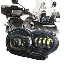 2019 neue LED Scheinwerfer für BMW R1200GS R 1200 GS adv r1200gs lc 2004 2012 motor bike(fit öl kühler)