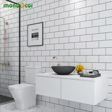 Пластиковые виниловые самоклеющиеся обои, домашний декор, ванная комната, кухня, ПВХ мозаика, самоклеющиеся обои, водостойкие плитки, наклейки