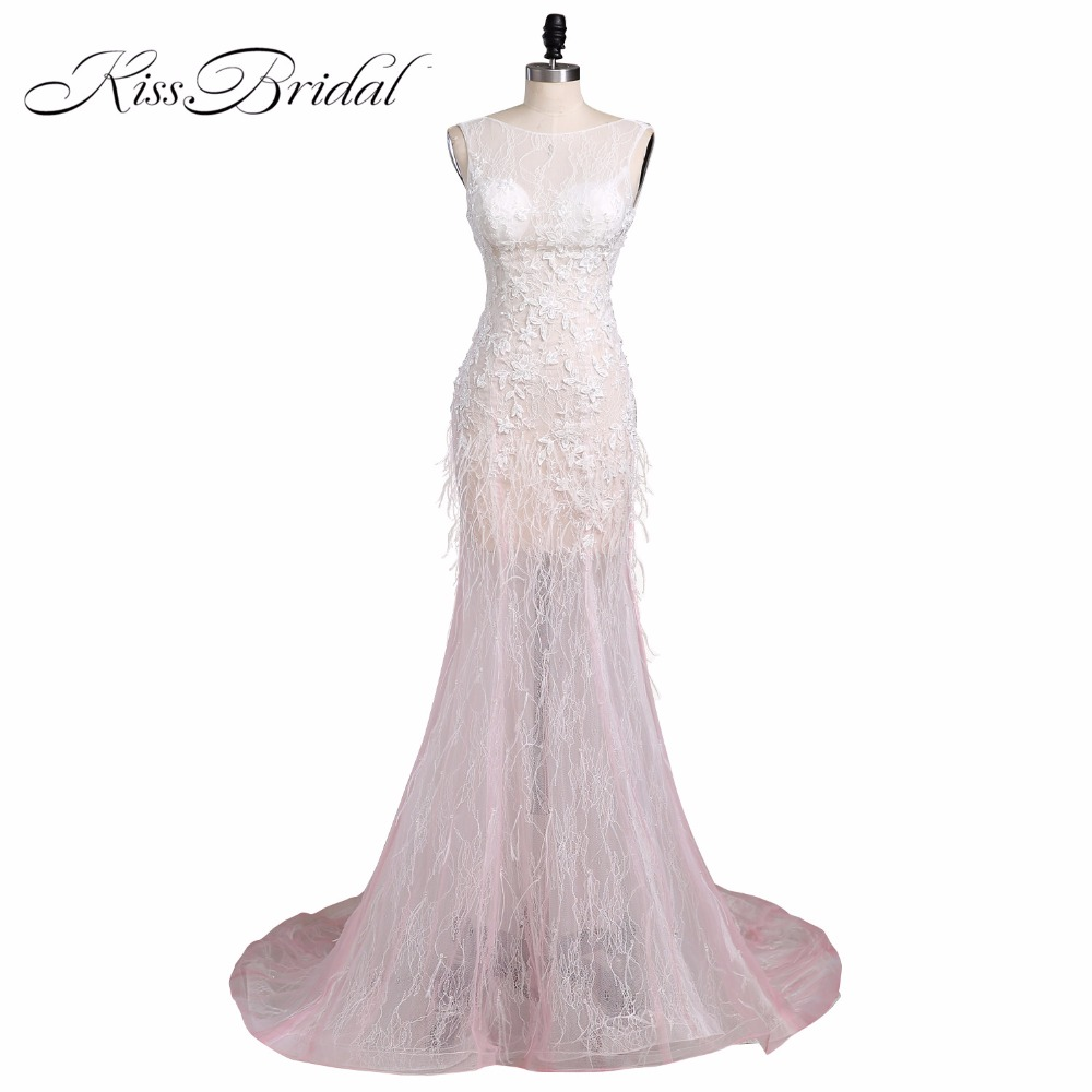 Sexy Long Formal   Evening     Dresses   Ever Pretty Elegant Women Mermaid Backless Sleeveless Lace Applique Prom Party Gown