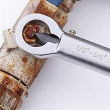"""Регулируемый гаечный ключ стальной резак для удаления 1/""""-5/8""""& 5/""""-7/8"""" поврежденный Винт экстрактор ржавая гайка сплиттер шестигранный крекер"""