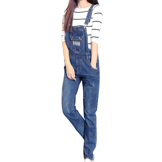 Summer New Arrival Women Cowboy Jumpsuit Plus Size XXL Denim Overalls Female Fashion Skinny Denim Rompers Womens Jumpsuit