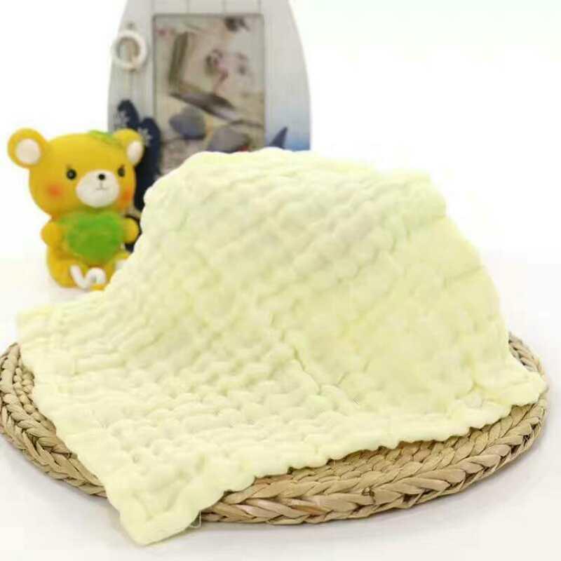 2018 New 5 Pcs Baby Washcloths Organic Cotton Baby Wipes Soft Newborn Face Towel 88
