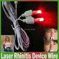 BioNase rinite Nasal cuidados de saúde terapia massageador nariz fio, febre Do Feno, Baixo-freqüência de pulso terapia a laser rinite dispositivo fio