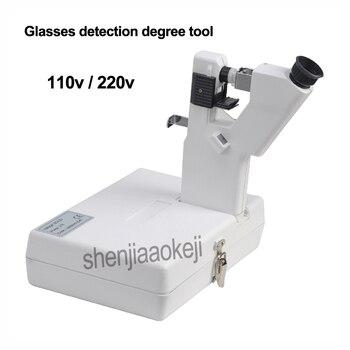 Portable lensmeter lens Tester Handheld focimeter Optical testing instrument  eyeglasses equipment Glasses detection degree tool