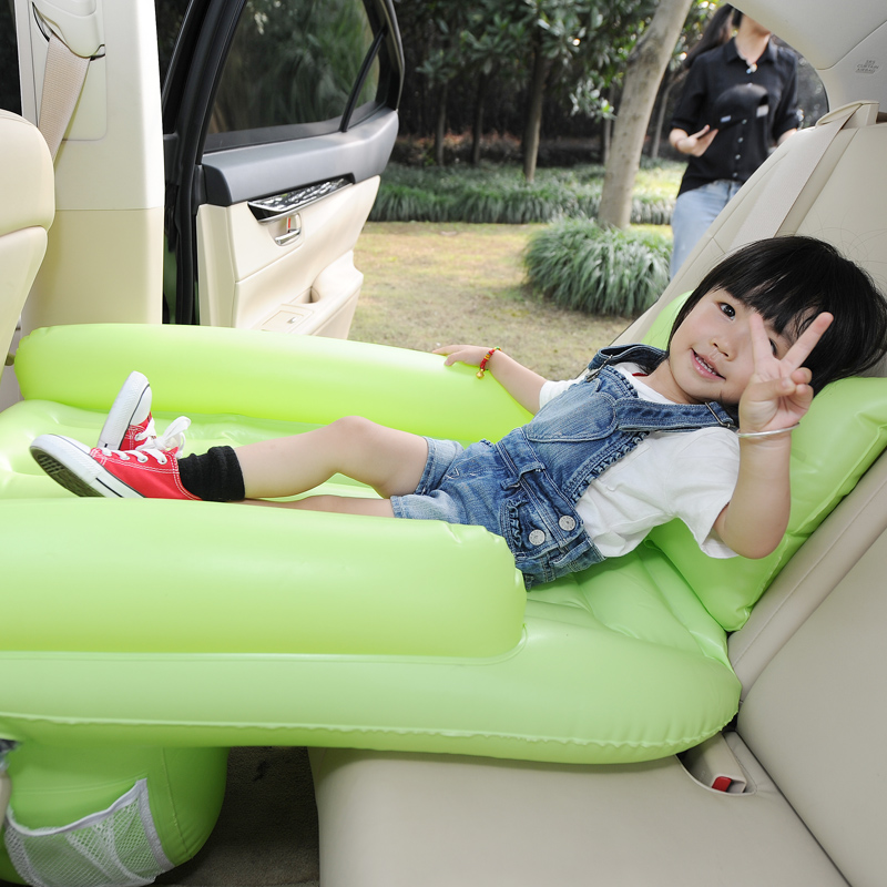Car Child Safety bed inflatable sleeping car bed travel bed child ...