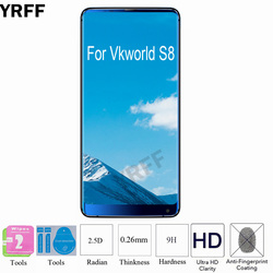 На Алиэкспресс купить стекло для смартфона 2pcs for vkworld s8 glass protective 2.5d 0.25mm 9h tempered glass screen protector protective film for vkworld s8 free tools