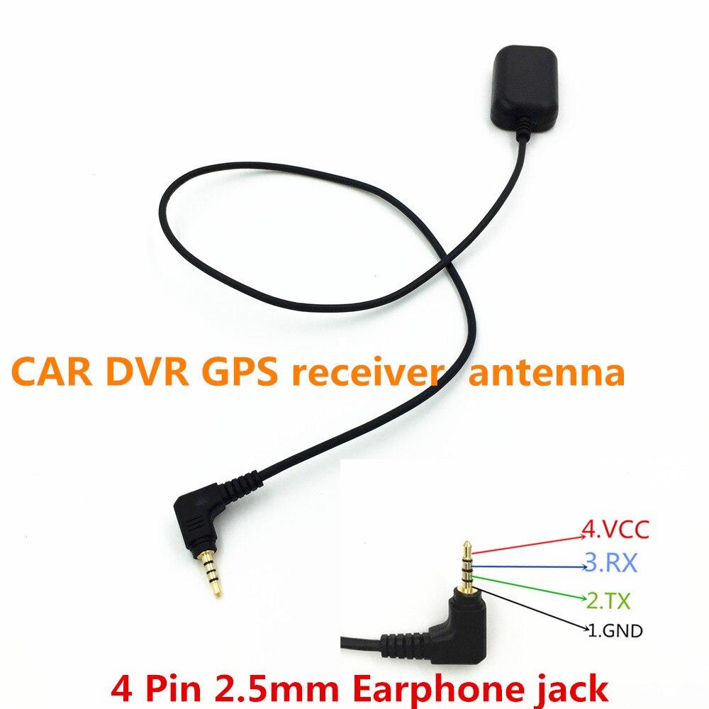 Heißer verkauf Fahren Recorder Kleine AUTO DVR GPS empfänger antenne modul 2,5mm Kopfhörer Jack 0,5 mt Kabel, STOTON GN800