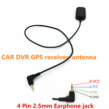 Hot selling Driving Recorder Small  CAR DVR GPS receiver antenna module 2.5mm Earphone Jack 0.5M Cable,STOTON GN800