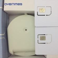 Oyeittimes 4G LTE SIM Card Reader Писатель программист с 3 шт LTE пустые sim-карты 1 шт SIM карта программное обеспечение Milenage