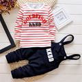 Baby Boy Clothing Set 2015  Autumn/Winter thick  Letter Print Long Sleeve Shirt And Pant Clothes For Babies Infant Clothes Sets