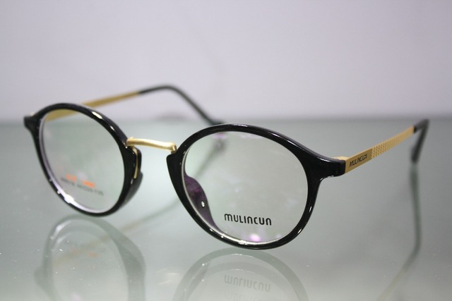 2016 Gafas Custom Made Glasses Minus Shortsighted Round Large Frame Briller Reading -1 -1.5 -2 -2.5 -3 -3.5 -4 -4.5 -5 -5.5 -6