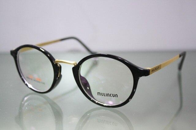 2017 Gafas Custom Made Glasses Minus Shortsighted Round Large Frame ...