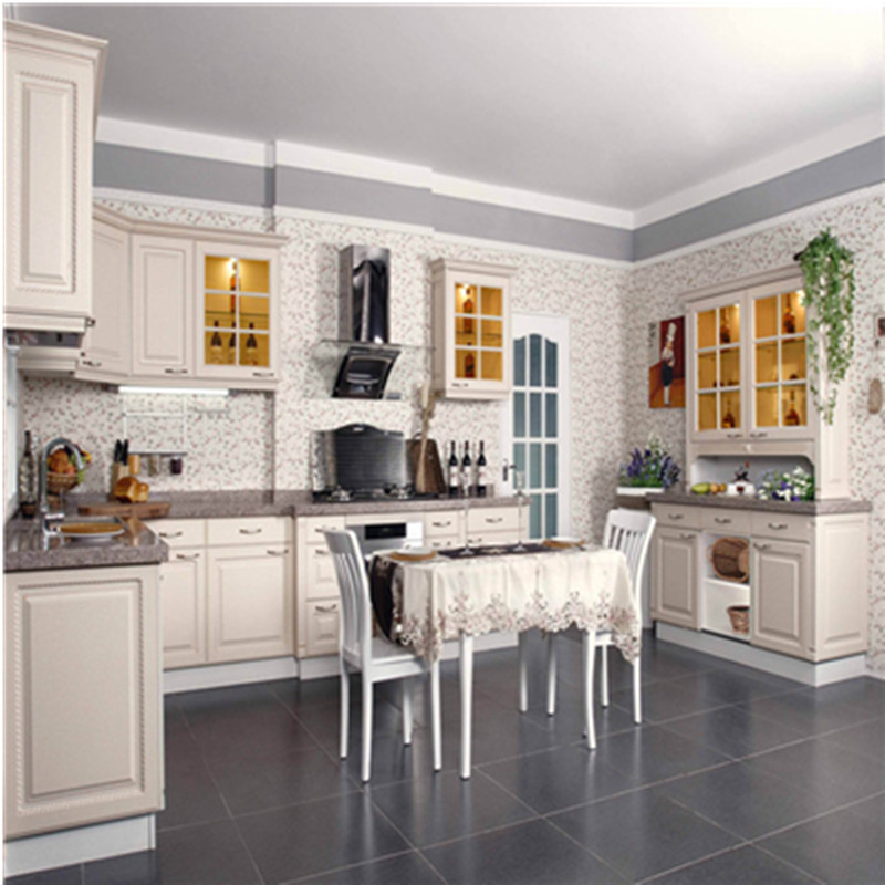 European Kitchens: European Style Wood Kitchen Cabinet-in Kitchen Cabinets