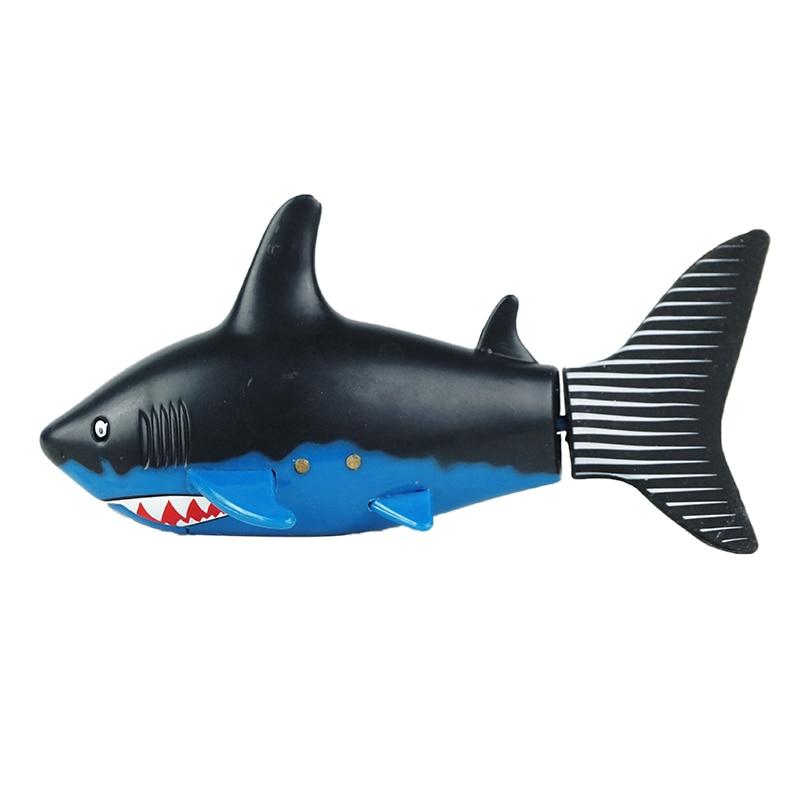 Hot Sale Kids Baby Boy RC Shark Fish Coke Can Radio Control Mini Electronic Shark Fish Boat Children Toy Gift 3CH 4 Way USB Plug