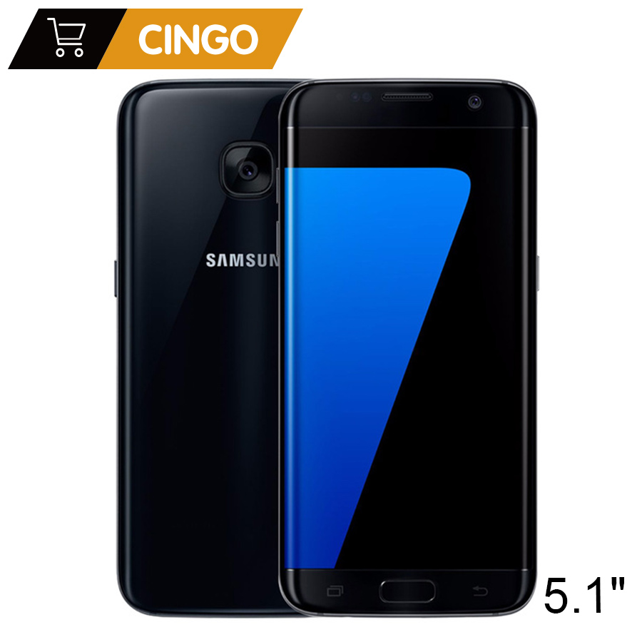 Original Samsung Galaxy S7 4GB RAM 32GB ROM 5.1 inch 12MP Camera Android Quad Core Unlocked GSM 4G LTE Smartphone Mobile Phone