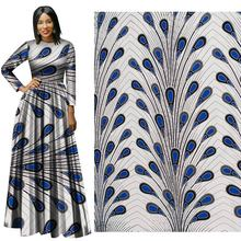 6 Yard lot 2019 new national Wind cotton calico Plain geometric printed fabric wholesale  for sewing java Batik 100% Cotton