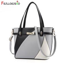 FGJLLOGJGSO New Large capacity shoulder bag women Europe fashion luxury crossbody bags for female leather handbags sac sling bag