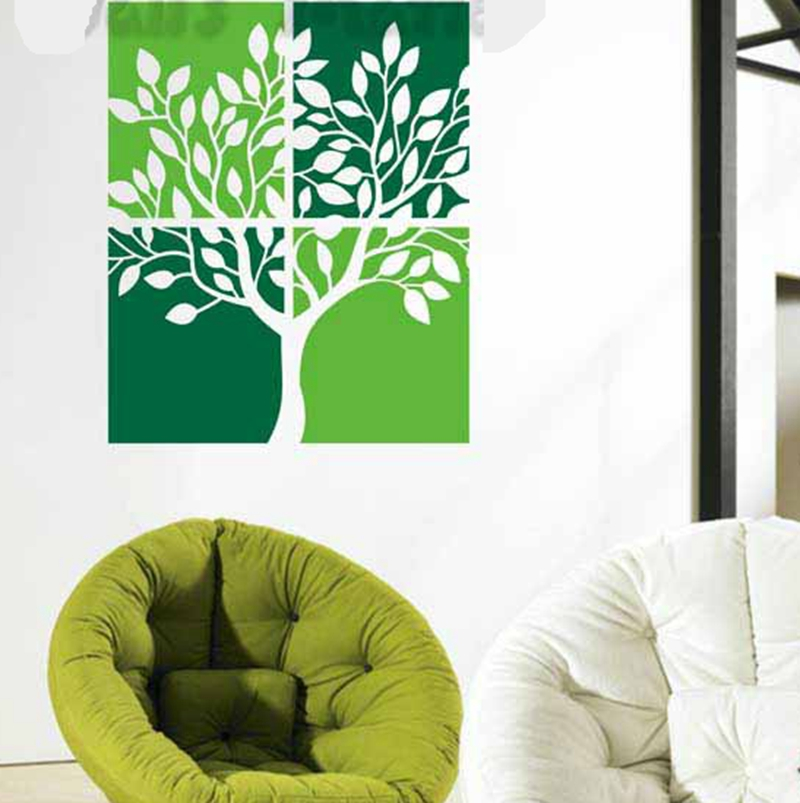 Aliexpress.com : Buy Eco Friendly Hand Painted Trees Wall Mural Art  Stickers Removable Vinyl Home Decoration Wall Decals Stickers Free Shipping  From ... Part 56