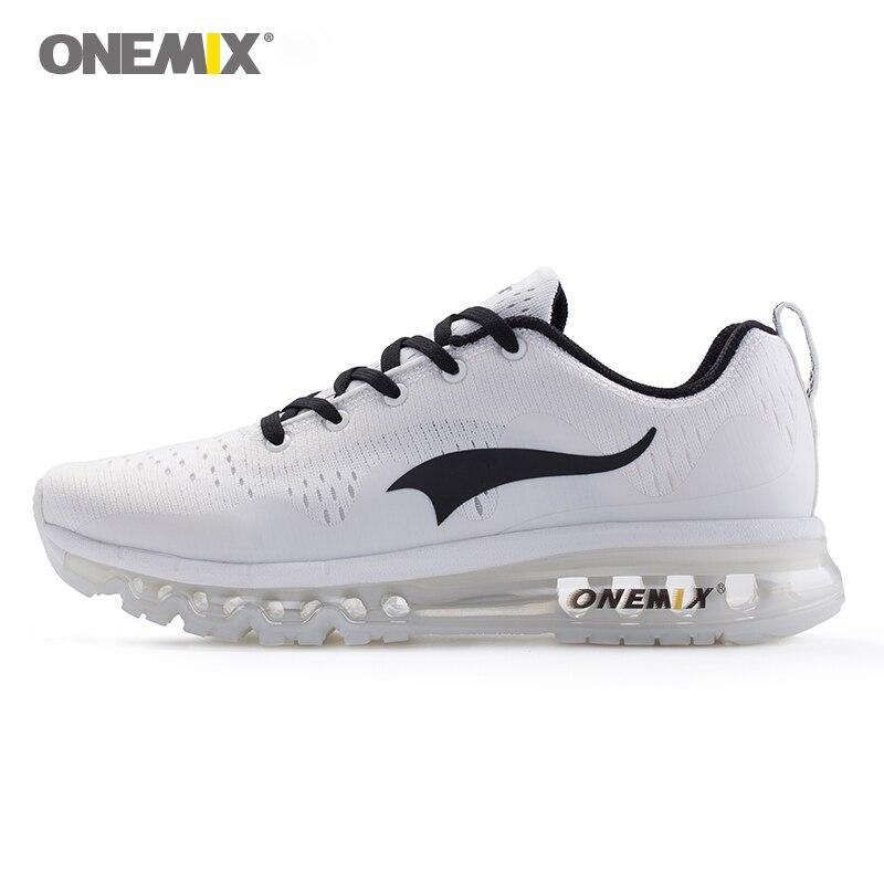 Onemix scarpe da corsa degli uomini freddi di sport scarpe da ginnastica smorzamento cuscino traspirante maglia della maglia fresca vamp scarpe outdoor a piedi scarpe da jogging