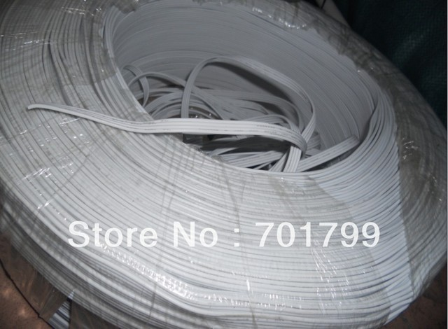 4pin white cable 20AWG for led module use;50m a lot