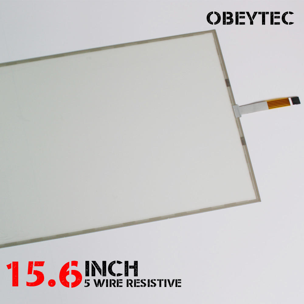15.6 Inch 16:9 5 Wire Resistive Touch Screen Panel Kit with EETI USB Controller Active Area 337*187 Check Drawing цена