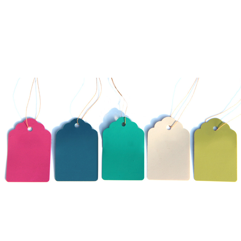 Multicolor Hang Tag Garden Decoration Hanging Tags Plant Labels Waterproof Strip Line Signs Flower Pot Marker Gardening Tool