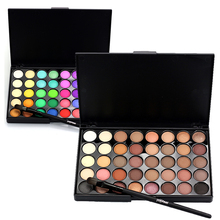 US $3.79 20% OFF|40 Colors Waterproof Matte Glitter Pigment Eyeshadow Makeup Palette Eyeshadows with Brush Set Make Up Eye Shadow Nude Cosmetics-in Eye Shadow from Beauty & Health on Aliexpress.com | Alibaba Group