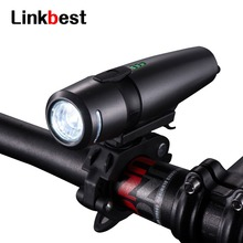 Linkbest 300 Lumens USB Rechargeable Bike Light , Ultra-compact, Waterproof Safety Bicycle Fits ALL Bikes