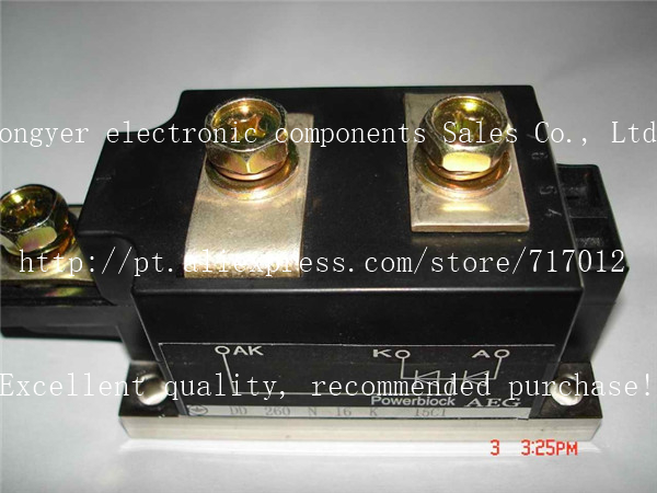 Free Shipping DD260N16K  No New(Old components,Good quality)  SCR Module:260A-1600V,Can directly buy or contact the seller free shipping 2ri100e 080 new scr module 100a 800v can directly buy or contact the seller