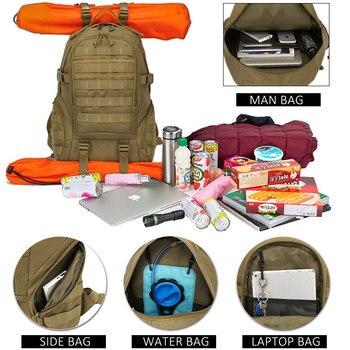 Uns Armee Rucksack | Heißer Molle Tactical Military Rucksack Wasserdicht Armee Rucksack Outdoor Jagd Camping Angeln Tasche Frauen Multifunktions Sport Tasche