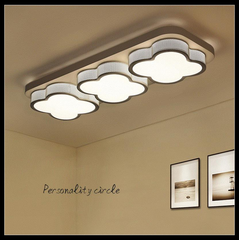 Cloud balcony aisle entrance led ceiling light lighting dining room bedroom light white black 1/2/3heads ceiling lamps ZA9817