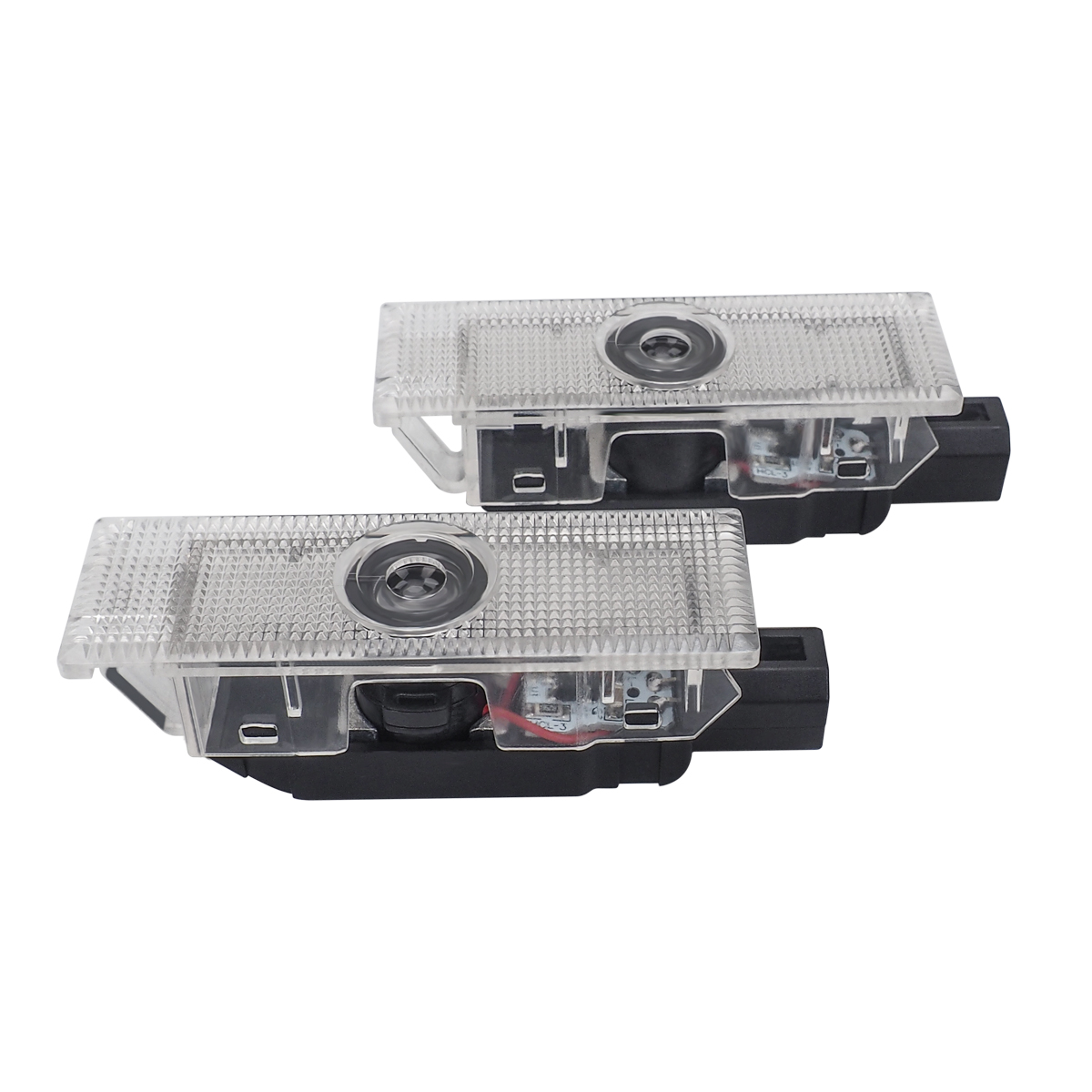 1 Pair Auto Car Door Light Welcome Light Accessories For Dodge Ram 1500 Joury Caliber Durango Caravan LED Car Ghost Shadow Light in Signal Lamp from Automobiles Motorcycles