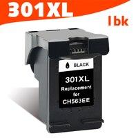 1 Black Ink Cartridge Compatible For HP 301 301XL INK DeskJet 1050 2050 3050 2150 3150