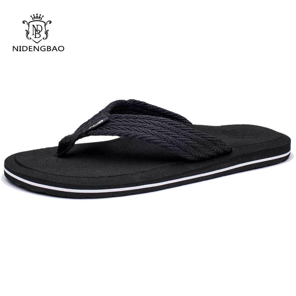 fd471689c084cc NEEDBO 2017 Flat Sandals Men Slippers Shoes Comfortable Flip Flops Casual  Summer Beach Sapatos Hembre sapatenis