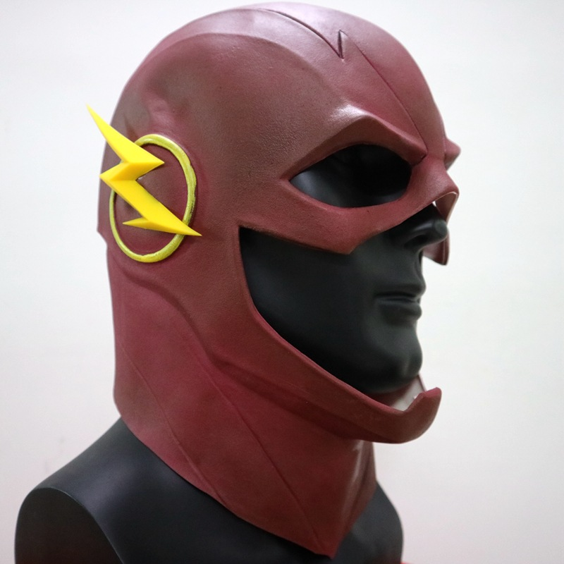 2Pcs Halloween Avengers:Infinity War Batman The Flash Mask DC Comics Resin Masquerade Masks Party Cosplay Props Game L1705