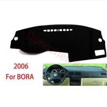 RHD Right Hand Drive Приборной Панели Автомобиля Избегайте Свет Pad Инструмент Крышка Платформы Стол Коврик Ковры Для Volkswagen VW Bora 2006