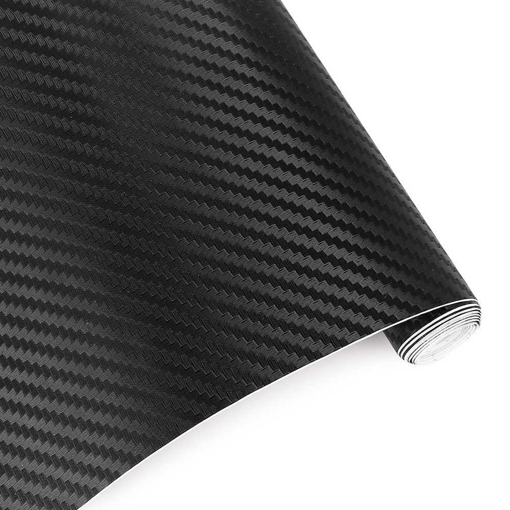 30cmx127cm 3D Carbon Fiber Vinyl Car Wrap Sheet Roll Film Car stickers and Decals Motorcycle Car Styling Accessories Automobiles 2