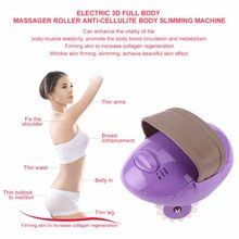 Nuovo Salute e Bellezza Elettrico 3D Full Body Massager Roller Potente Anti-Cellulite Corpo Snellente Bruciare Il Grasso Dispositivo di Perdita di Peso SPA mach(China)