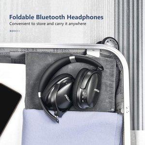 Image 2 - Mpow H10音楽ヘッドセットアップグレードワイヤレスヘッドセット折りたたみ式ヘッドフォン25h再生時間アクティブノイズキャンセリングヘッドホン